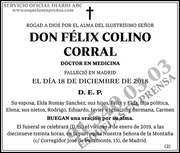 Félix Colino Corral